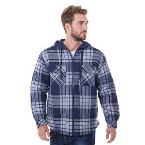 Big & Tall Dickies Plaid Flannel Jacket