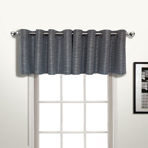 United Curtain Co. Brighton Window Valance - 50'' x 18''