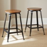Adele 2-piece Counter Stool Set