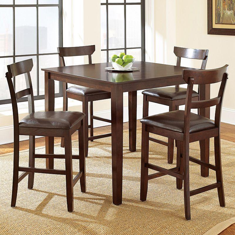 Howard 5-piece Dining Set (Brown)