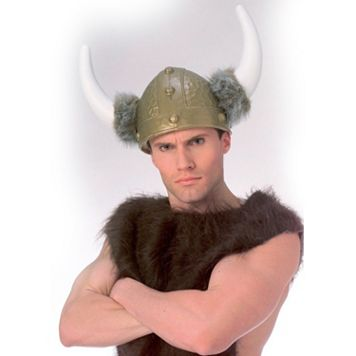 Deluxe Viking Costume Helmet - Adult