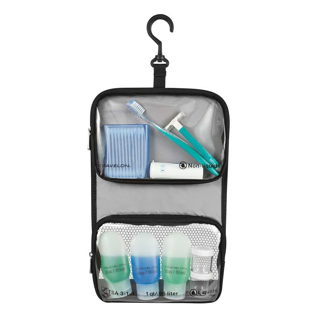 Travelon 6-piece Toiletry Bag Set