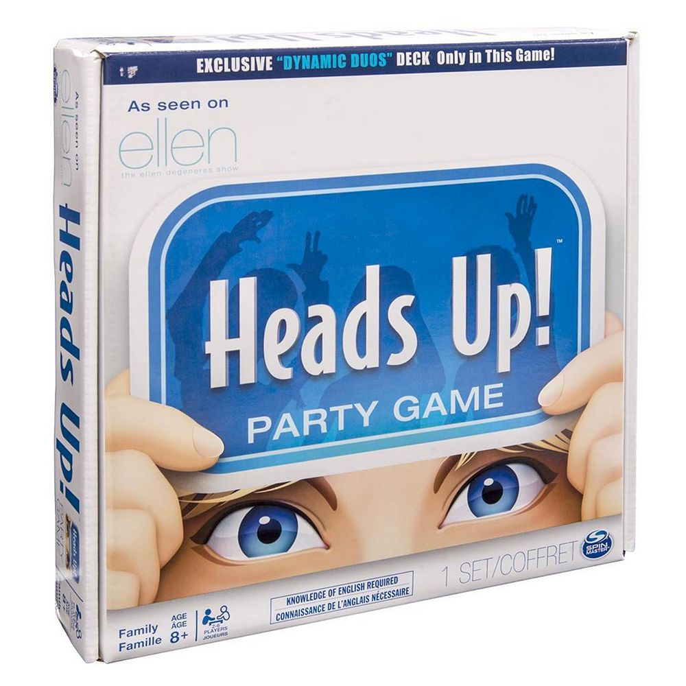 Heads Up! Party Game by Spin Master
