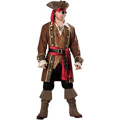 Captain Skullduggery Pirate Costume Adult by