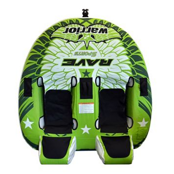 RAVE Sports Warrior II 2-Person Towable Tube