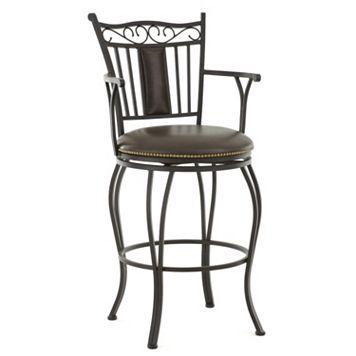 Barbara Jumbo Swivel Bar Chair