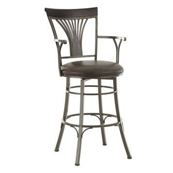 Karol Jumbo Swivel Bar Chair