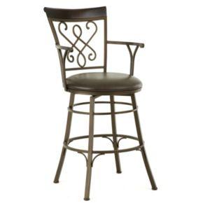 Carmona Jumbo Swivel Bar Chair