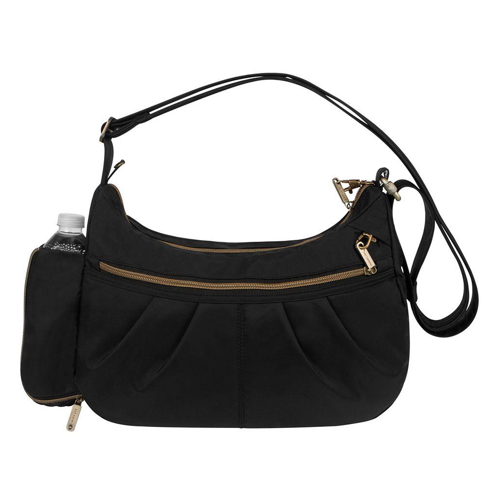 Travelon Signature RFID-Blocking Anti-Theft Hobo Shoulder Bag