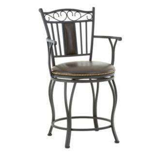 Barbara Jumbo Swivel Counter Chair