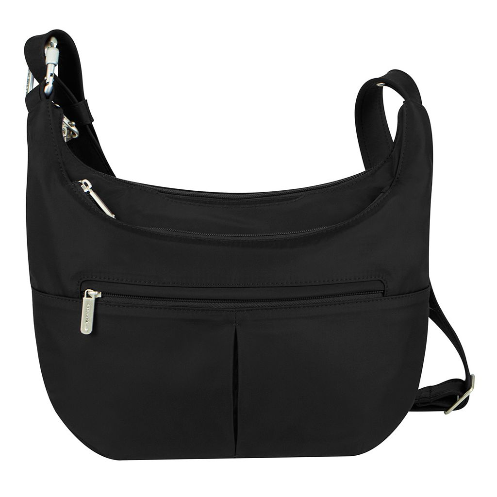 Travelon Classic RFID-Blocking Anti-Theft Slouch Hobo Bag