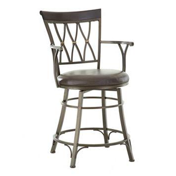 Bali Jumbo Swivel Counter Chair