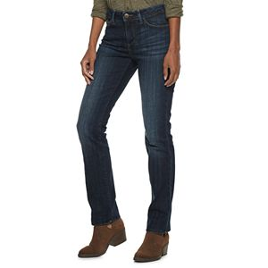 7f5a893c Women's Lee Instantly Slims High Waisted Straight-Leg Jeans