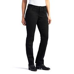 Women's Lee Secretly Shapes Regular Fit Straight-Leg Jeans