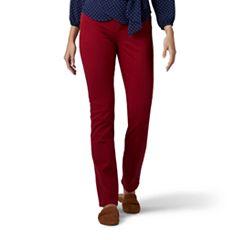 Women's Lee Secretly Shapes Regular Fit Straight-Leg Jeans