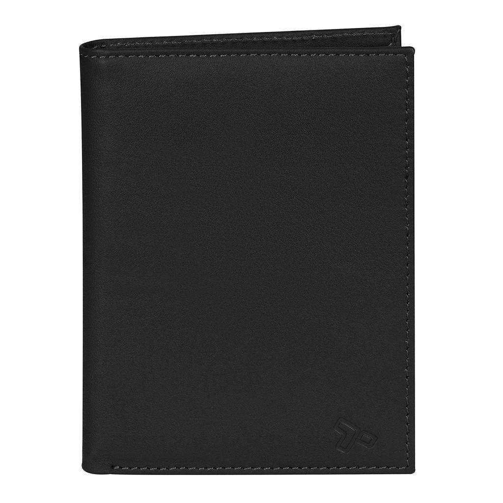 Travelon RFID-Blocking Leather Passport Wallet