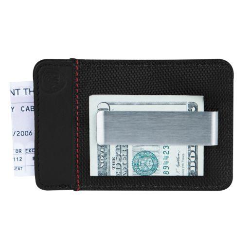Travelon Safe ID Accent RFID-Blocking Money Clip Wallet