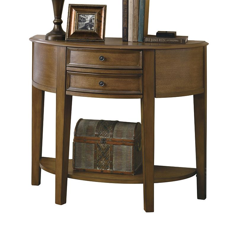 Coaster 2-Drawer Side Table