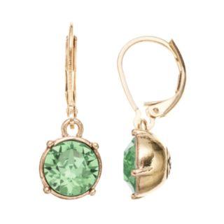 Dana Buchman Circle Drop Earrings