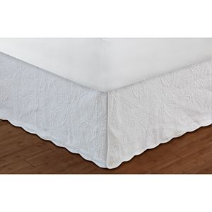Paisley Quilted Bedskirt
