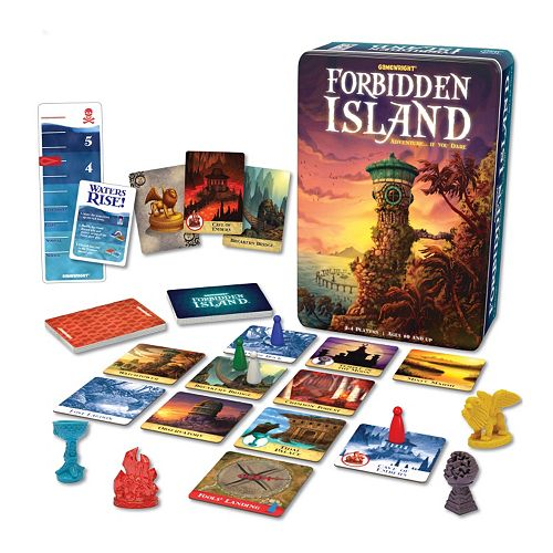 Forbidden Island Game by Gamewright