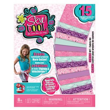Sew Cool Jumbo DIY Fabric Kit