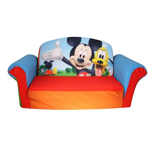 Cool Disneys Mickey Mouse Club House 2 In 1 Flip Open Sofa By Cjindustries Chair Design For Home Cjindustriesco