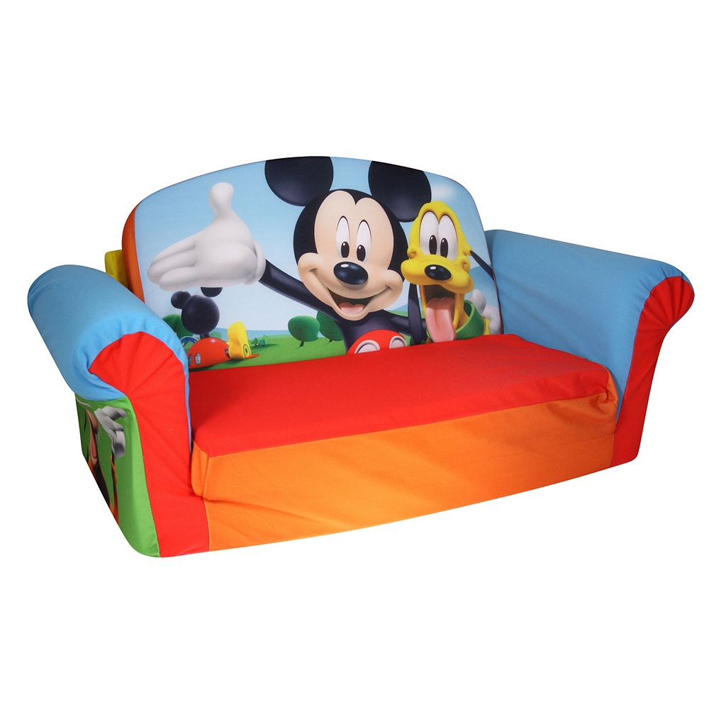 Disney's Mickey Mouse Club House 2-in-1 Flip Open Sofa by Spin Master