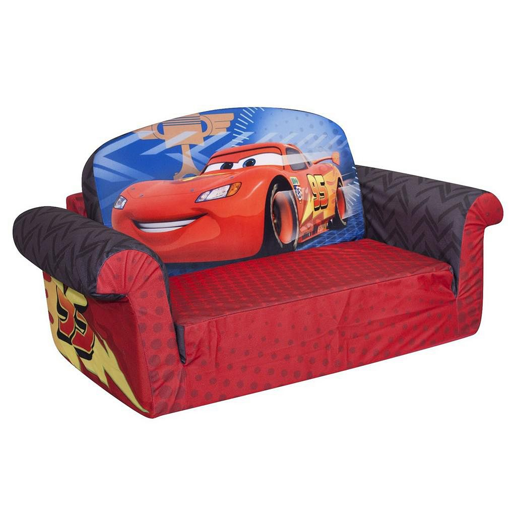Disney / Pixar Cars Marshmallow 2-in-1 Flip Open Kids Sofa by Spin Master