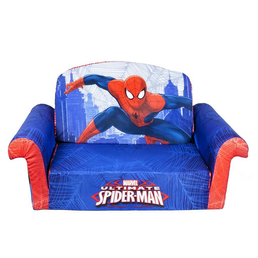 Marvel Ultimate Spider-Man Marshmallow 2-in-1 Flip Open Kids Sofa by Spin Master