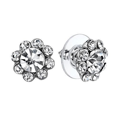 1928 Flower Stud Earrings