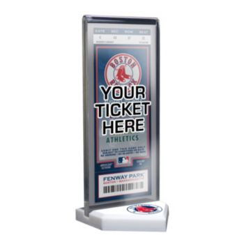 Boston Red Sox Home Plate Ticket Display Stand