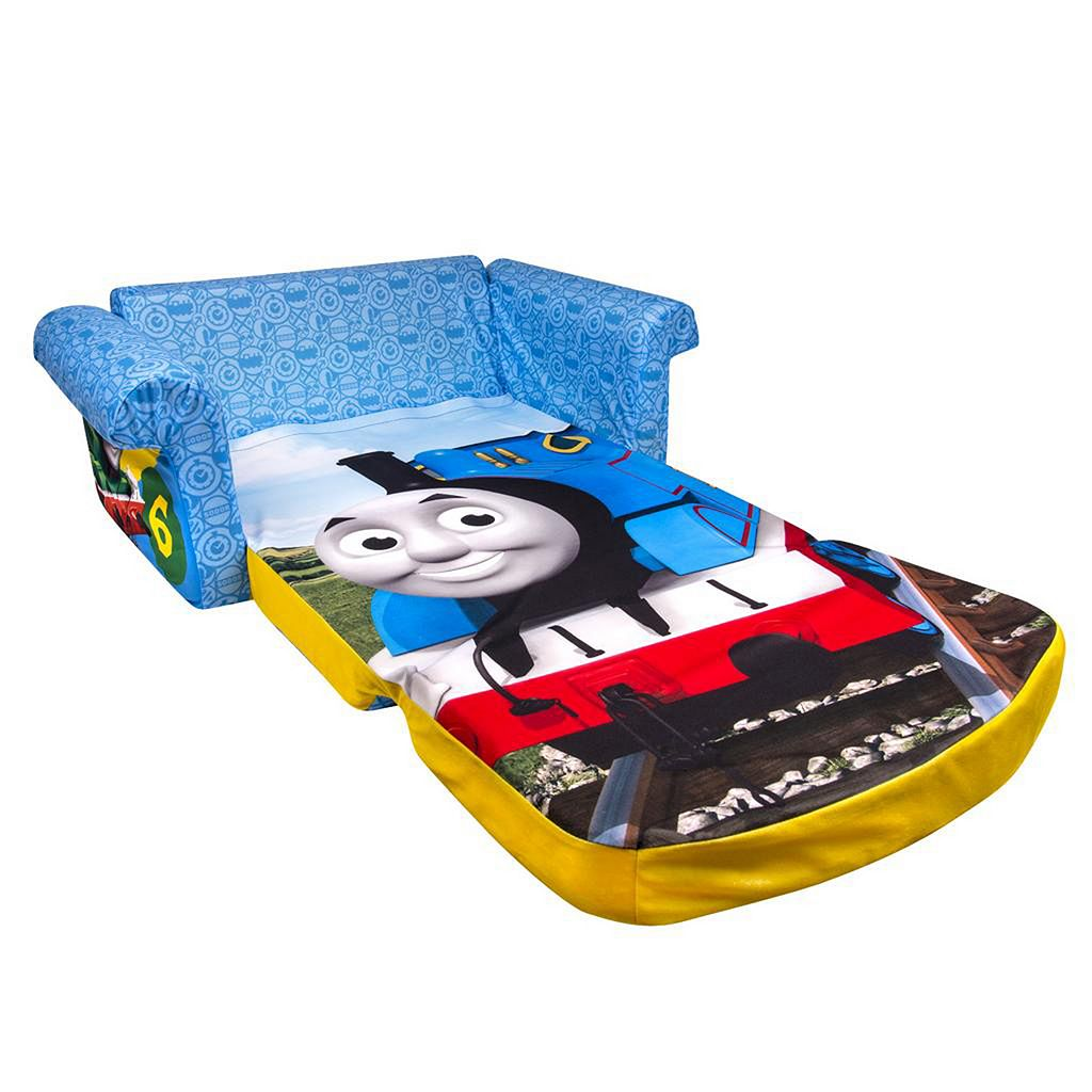 Thomas and Friends Marshmallow 2-in-1 Flip Open Kids Sofa by Spin Master