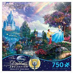 Disney Cinderella Thomas Kinkade 750-pc. Puzzle