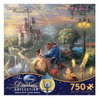 Disney Beauty and The Beast Thomas Kinkade 750-pc. Puzzle