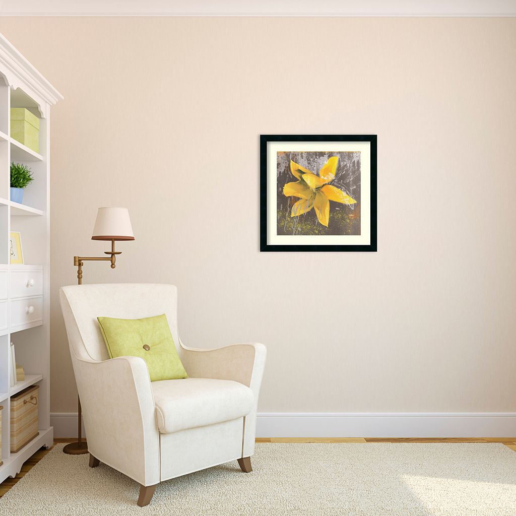 ''Tulip Fresco'' Framed Art Print by Erin Clark