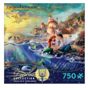 Disney The Little Mermaid Thomas Kinkade 750-pc. Puzzle