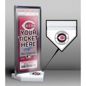 Cincinnati Reds Home Plate Ticket Display Stand