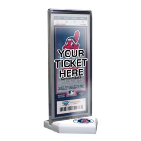 Cleveland Indians Home Plate Ticket Display Stand