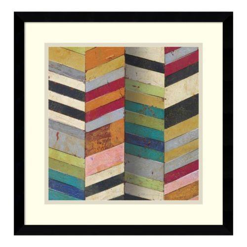 'Racks and Stacks II'' Framed Art Print by Susan Hayes