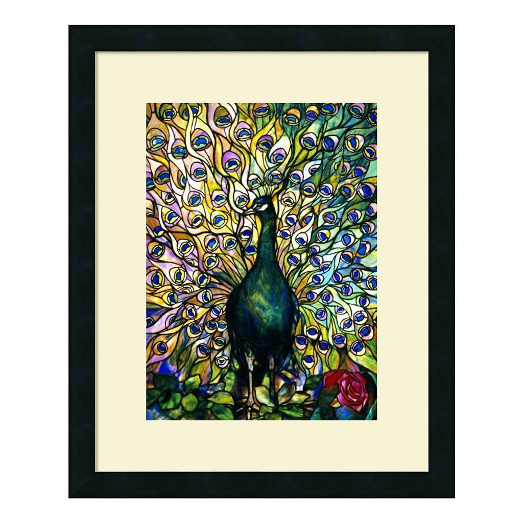 ''Fine Peacock'' Framed Art Print