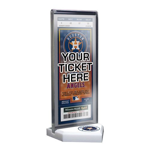 Houston Astros Home Plate Ticket Display Stand