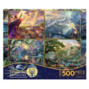 Disney Thomas Kinkade 4-pk. 500-pc. Disney Dreams Puzzles