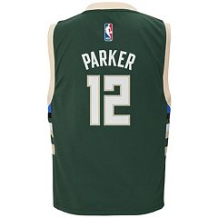Boys 8-20 adidas Milwaukee Bucks Jabari Parker NBA Replica Jersey