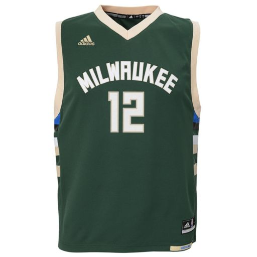 Boys 8-20 adidas Milwaukee Bucks Jabari Parker NBA Replica Jersey
