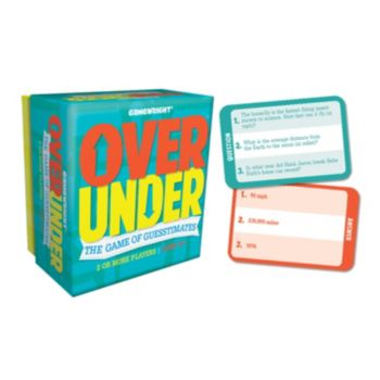 Over/Under Party Game by Gamewright
