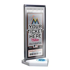 Miami Marlins Home Plate Ticket Display Stand