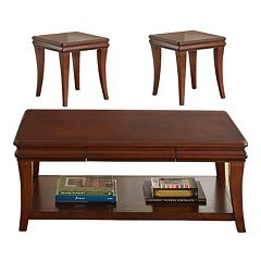 Aubrey 3 pc Coffee & End Table Set