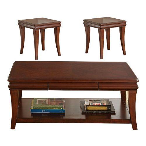 Aubrey 3-piece Coffee & End Table Set