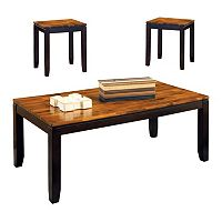 Abaco 3-piece Coffee & End Table Set